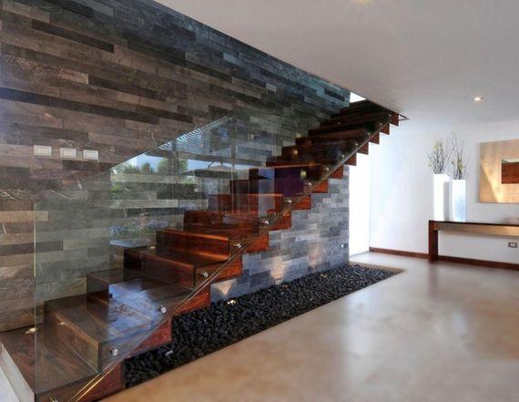 Interiérové zábradlí na schodišti